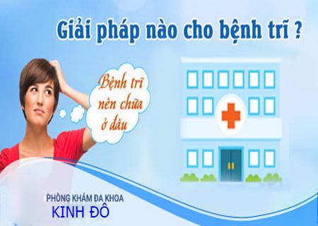 Phòng khám Kinh Đô là địa chỉ điều trị bệnh trĩ nội hiệu quả