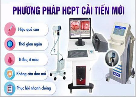 Phương pháp HCPT hỗ trợ điều trị trĩ nội an toàn