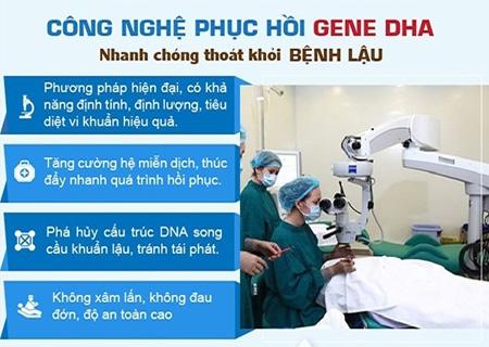 Phương pháp phục hồi gen DHA chữa bệnh lậu hiệu quả