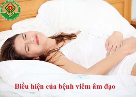 biểu hiện của viêm âm đạo