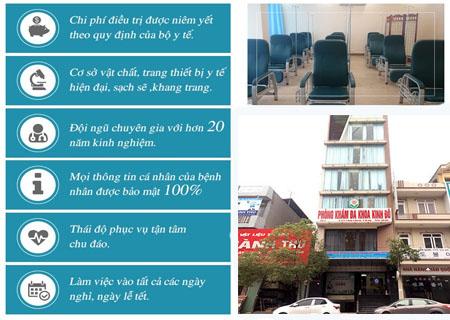 Chữa trĩ ngoại hãy đến phòng khám Kinh Đô