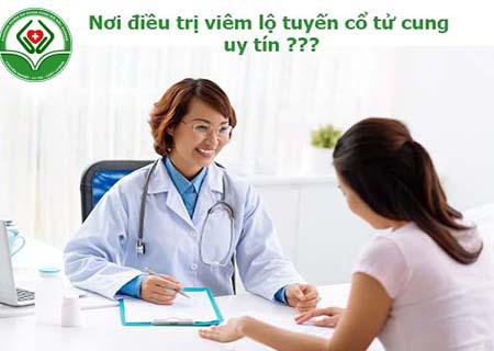 nơi điều trị viêm lộ tuyến cổ tử cung