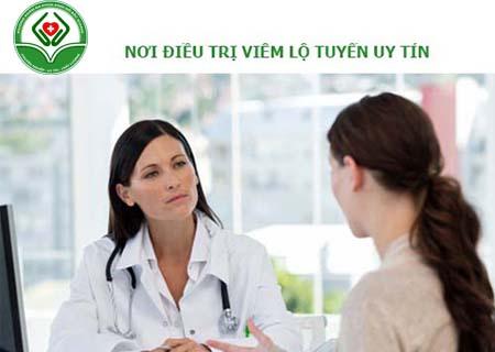 địa chỉ điều trị viêm lộ tuyến cổ tử cung