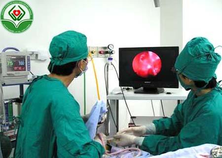 phương pháp điều trị polyp cổ tử cung