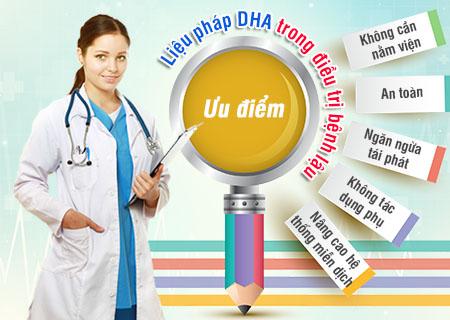 phương pháp phục hồi viêm nhiễm hệ tiết niệu gen DHA hỗ trợ điều trị bệnh lậu nữ an toàn