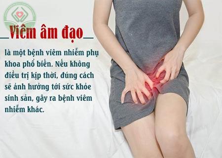 Viêm âm đạo cần chữa trị sớm