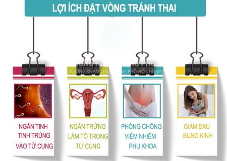 Đặt vòng tránh thai có nhiều lợi ích hiệu quả
