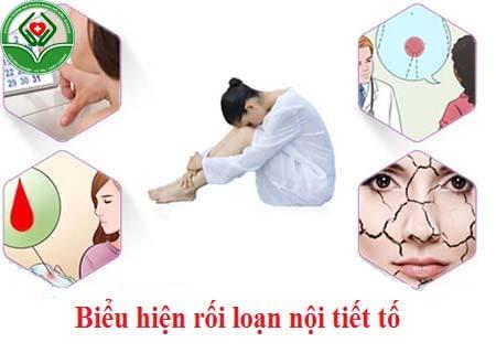 Biểu hiện của rối loạn nội tiết tố