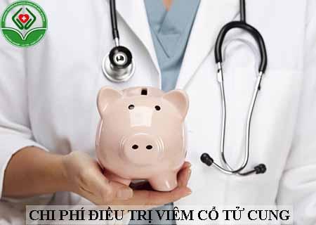 chi phí điều trị viêm cổ tử cung