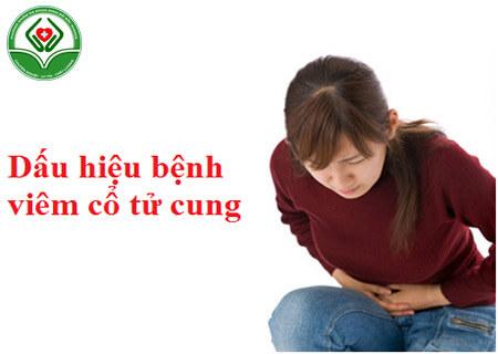 Dấu hiệu nhận biết của bệnh viêm cổ tử cung