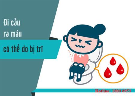Đi ngoài ra máu - cần dè chừng những bệnh lý nguy hiểm