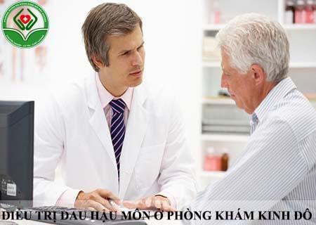 điều trị đau hậu môn ở phòng khám đa khoa Kinh Đô Bắc Giang