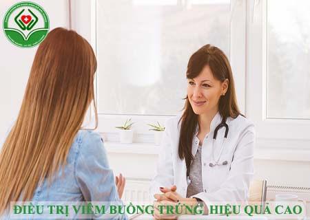 Điều trị viêm buồng trứng đạt hiệu quả cao