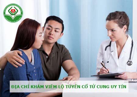 Nơi điều trị viêm lộ tuyến cổ tử cung uy tín