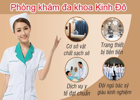 Chữa mùi hôi vùng kín hiệu quả tại phòng khám Kinh Đô