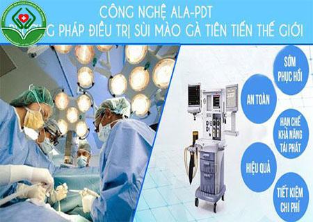 Phương pháp quang động lực AlA-PDT