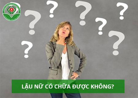 lau-nu-co-chua-duoc-khong