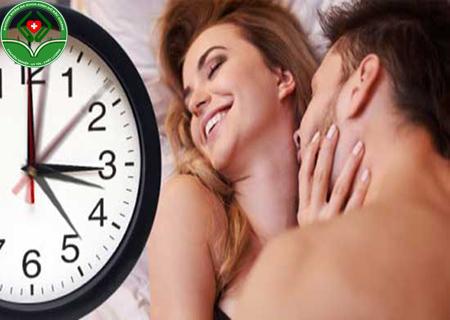 quan hệ bao nhiêu phút là bình thường