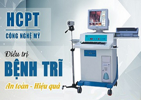 Công nghệ HCPT chữa đi ngoài ra máu hiệu quả