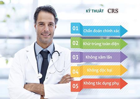 Kỹ thuật CRS điều trị nấm vùng kín an toàn
