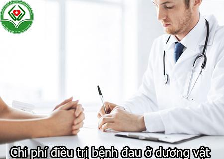 Chi phí điều trị bệnh đau ở dương vật
