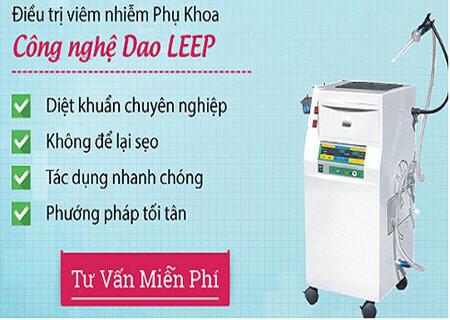 Công nghệ dao leep điều trị viêm lộ tuyến cổ tử cung