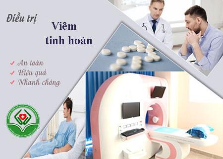 Phương pháp crs điều trị viêm tinh hoàn