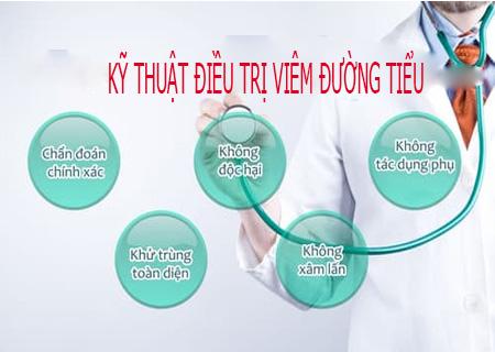 Phương pháp CRS điều trị viêm đường tiểu hiệu quả