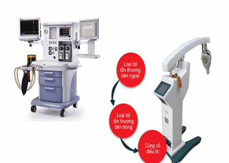 Phương pháp quang động lực hỗ trợ điều trị chuỗi hạt ngọc dương vật hiệu quả