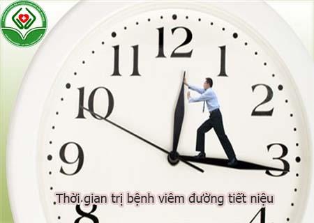 Thời gian trị bệnh viêm đường tiết niệu