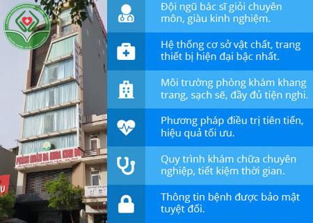 Phòng khám Kinh Đô - Địa chỉ uy tín chữa đái khó và ra máu